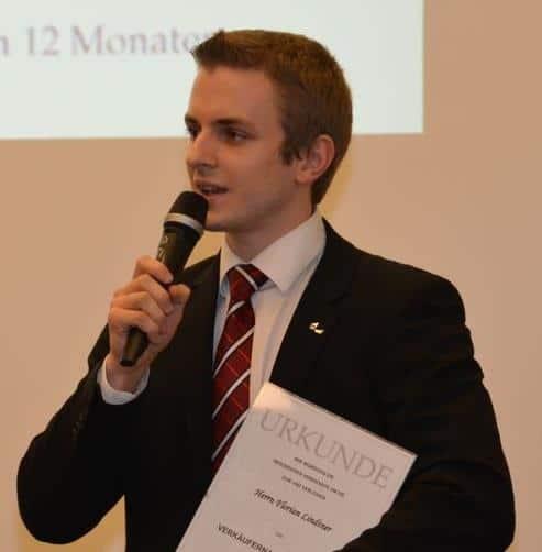 Urkunde - Florian Lindtner Beförderung, Hypnose Waldviertel